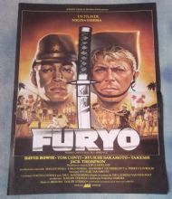 Merry Christmas Mr Lawrence,Vintage French Movie Poster,David Bowie,Tom Conti,'83